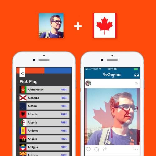 Flag Filter App