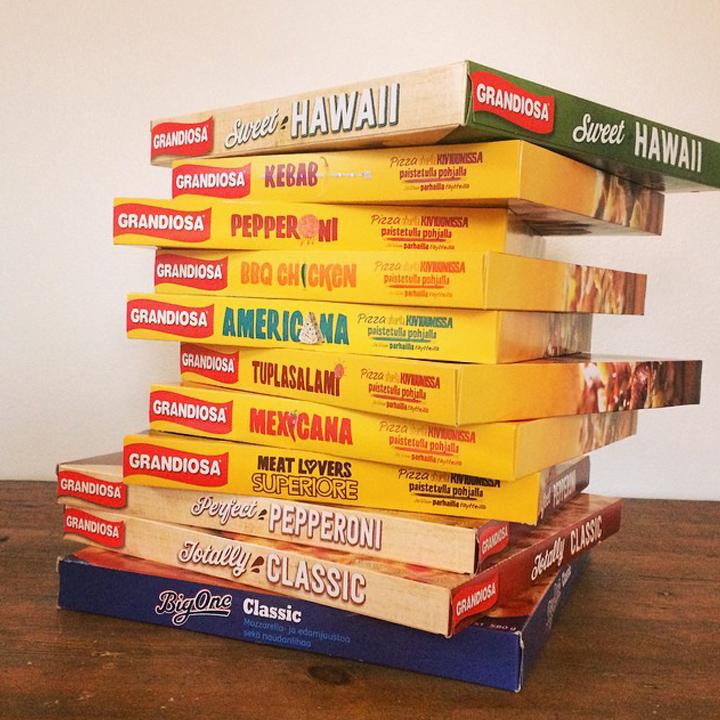 Grandiosa pizzas