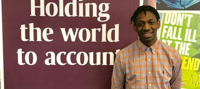 A Day In The Life Of… Shingi Mararike, Reporter At The Sunday Times