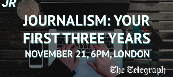 Journo Resources Presents: Journalism – Your First Three Years