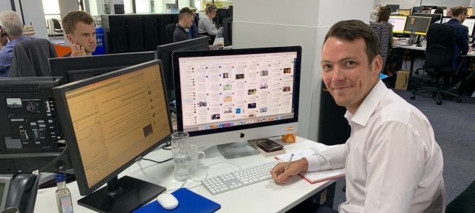 A Day In The Life Of… Tom Davidson, Senior Reporter at Mirror Online