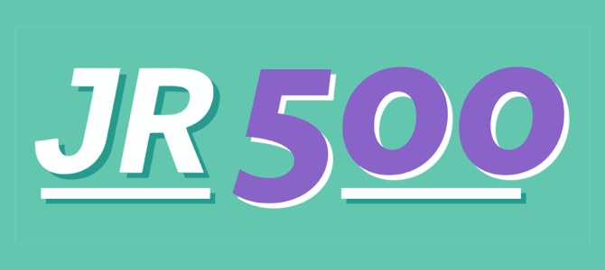 Introducing JR500: How You Can Help Us Keep Publishing