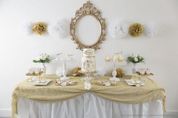 Latest Dcoration Communion With Deco Table Communion With