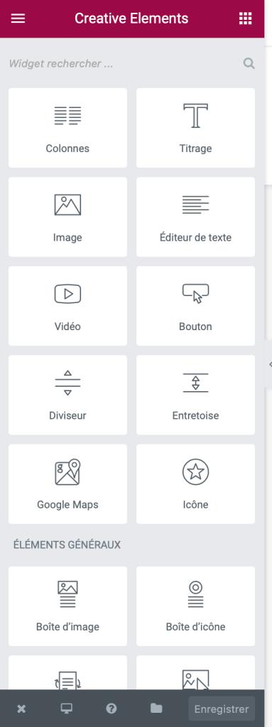 Widgets Creative Elements pour Prestashop