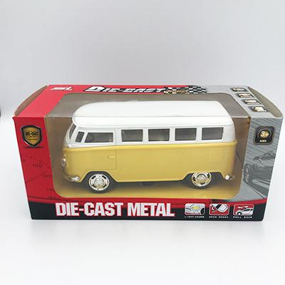 VW bus geel
