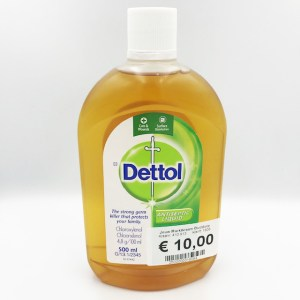 Dettol Ontsmettingsmiddel 500 ml.
