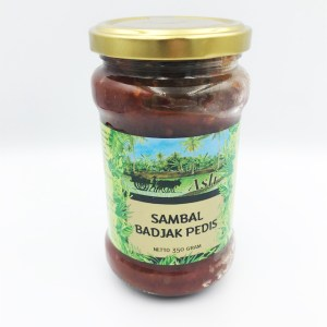 Sambal Badjak Pedis pot 350 gram