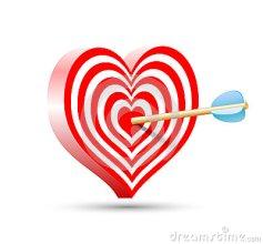 doel-de-vorm-van-hart-en-pijl-50775749