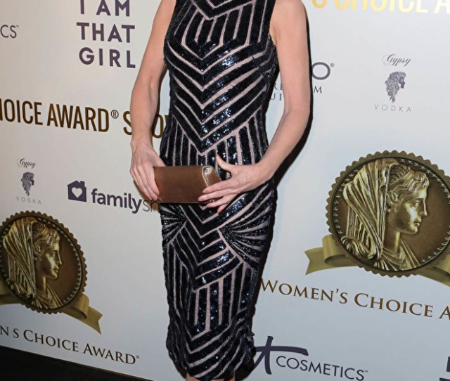 Jovani Kathy Griffin Wears Jovani To The Womens Choice Awards