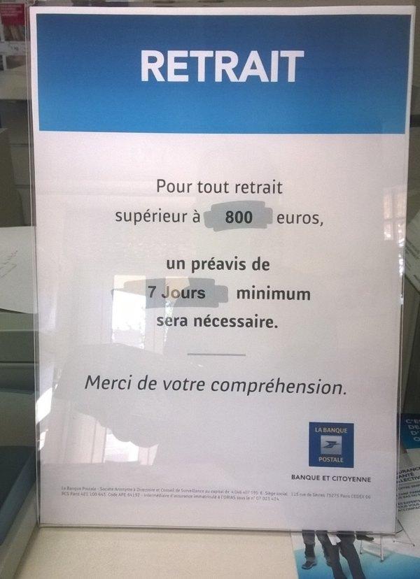 La Banque Postale Le Blog De La Resistance