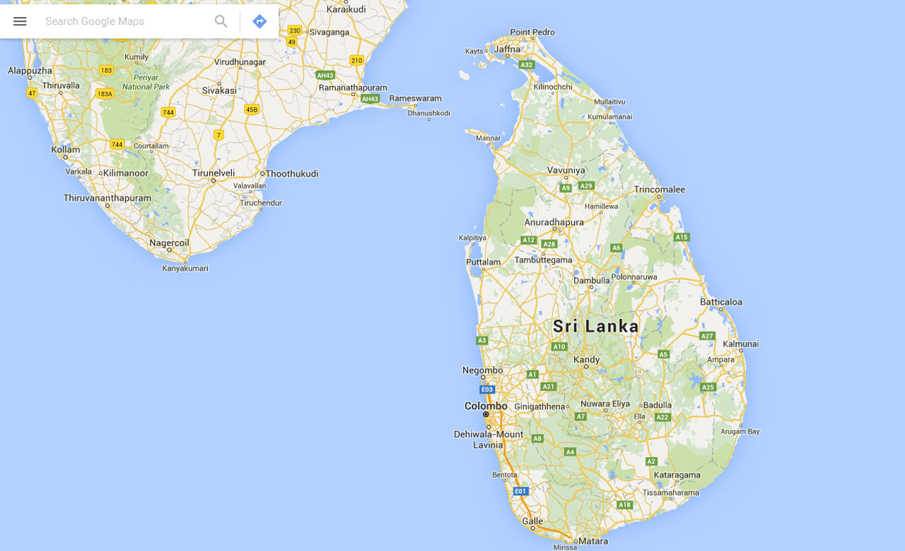 Sri Lanka – Give away's