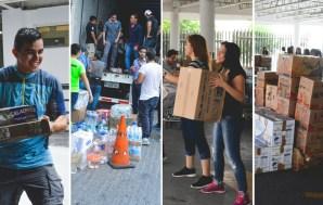Parte hacia Oaxaca trailer con 25 toneladas de víveres para…