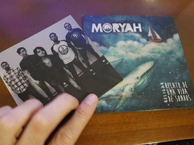 Cd da banda Moryah - Rock Católico
