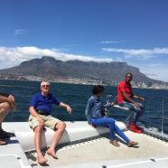Catamaran and Table Mountain