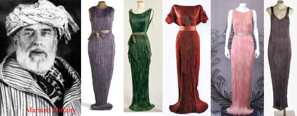Resultado de imagen de mariano fortuny y madrazo moda
