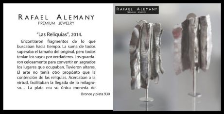 Rafael Alemany Premium Jewelry - Las reliquias