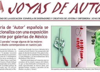 """Exposición """"12 Paradas"""" en el diario Gold&Time."""