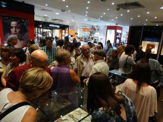 """Inauguracion Exposición """"10 años de Joya de Autor en el Atlantico""""   Septiembre 2015 - El Corte Inglés, Vigo   Foto: Escuela Técnica de Joyería del Atlántico"""