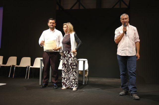 Ceremonia de entrega de premios - Permio AJA 2015 - D. Carlos Pereira Calviño