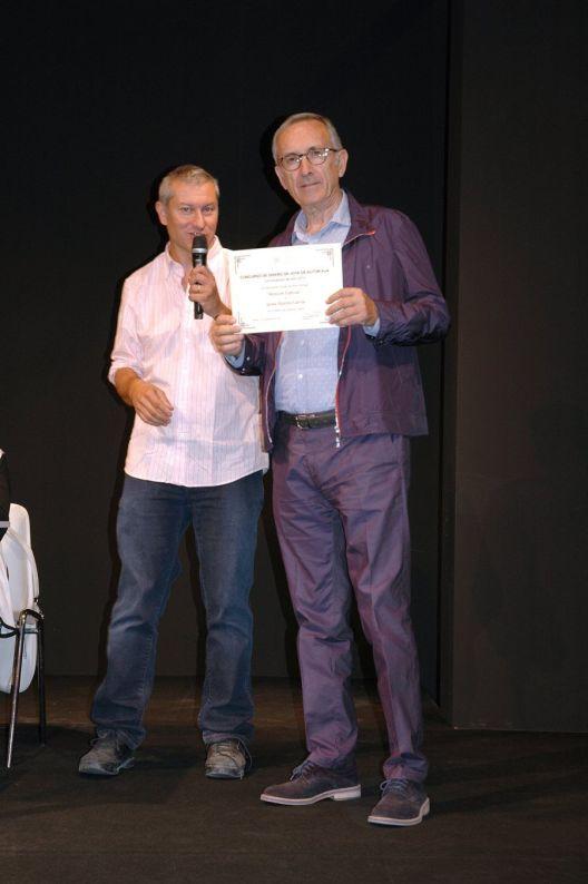 Entrega de Premios Concurso de Diseño de Joya de Autor AJA 2015 - Jaime Moreno y Rafael Alemáñ