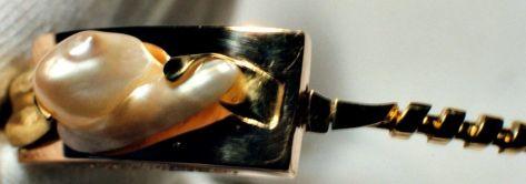 Charo Marín - Pendientes oro y perla