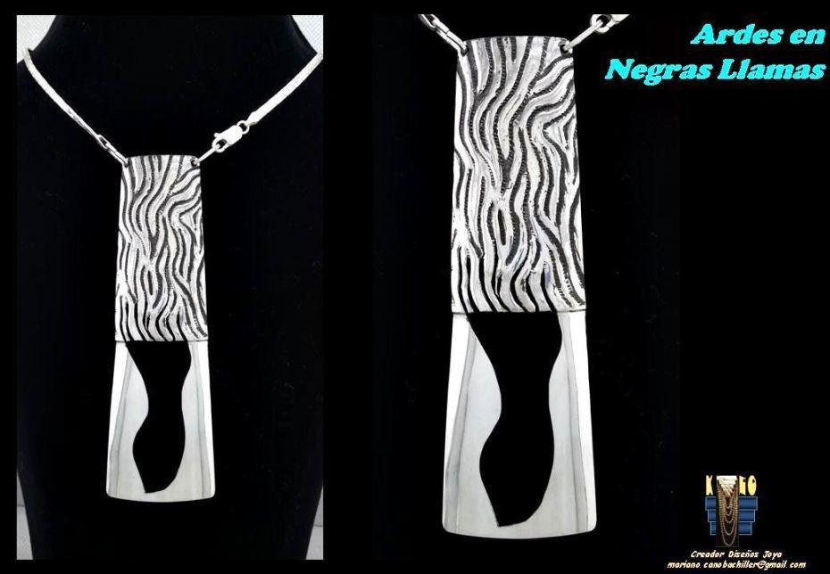 Mariano Cano - Kano Diseños Joya - Ardes en Llamas Negras