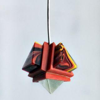 Collar Pirámides por Pedro Sequeros