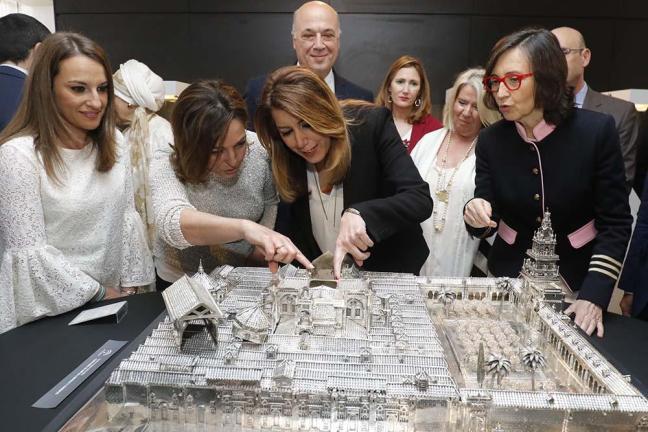 Inauguración de la exposición museística del Parque Joyero de Córdoba