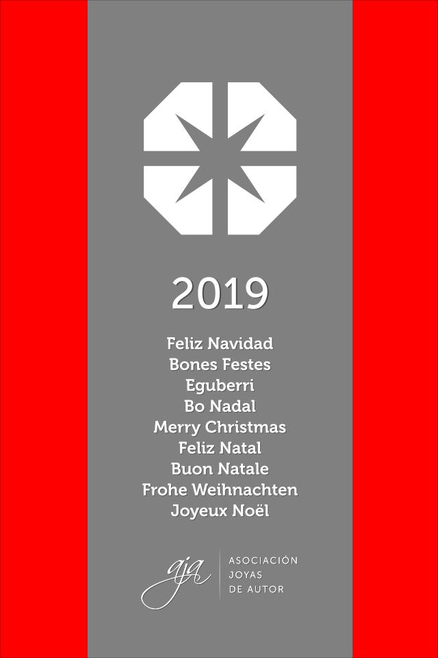 AJA - Felicitación navideña 2019