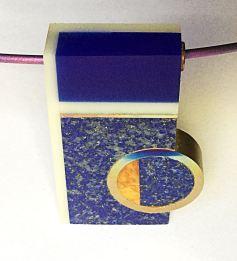 Gargantilla con lapislázuli - Pedro Sequeros, Colección Piedras