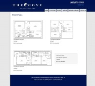 Floorplan page