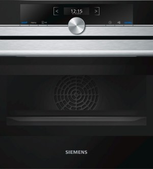 SIEMENS iQ700 Combi Oven with integrated Microwave CM633GBS1B