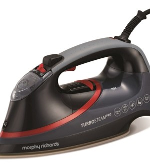 Morphy Richards Turbosteam Pro Pearl Ceramic Electronic Steam Iron 303125