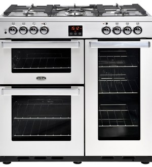 Belling Cookcentre 90cm Dual Fuel Range Cooker 90DFT