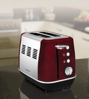 Morphy Richards Evoke Red 2 Slice Toaster 224408