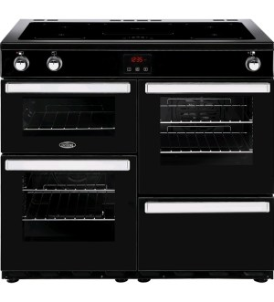 Belling Cookcentre 100cm Electric Induction Range Cooker 100EI