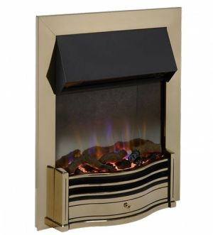 Dimplex Optiflame Dumfries Antique Brass 3D Inset Fire 2Kw