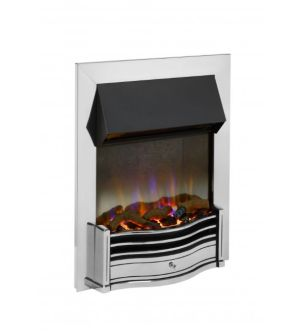 Dimplex Optiflame Dumfries Chrome 3D Inset Fire 2Kw
