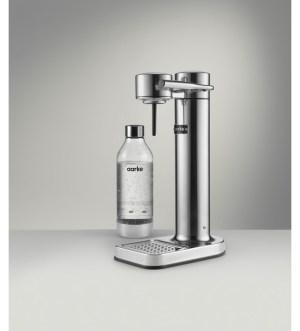 Aarke Sparkling Water Carbonator 3 Polished Steel | 126-AAC3-Steel