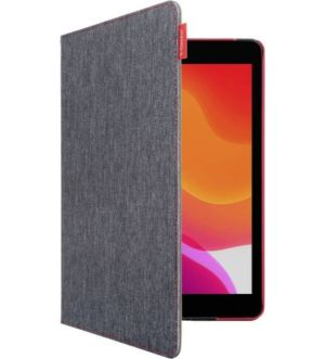 Gecko Apple iPad 10.2 (2019) ColourTwist Easy-Click Cover Antracite/Red