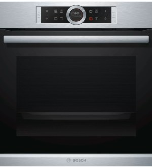 Bosch Serie 8 Single Oven brushed Steel | HBG634BS1B