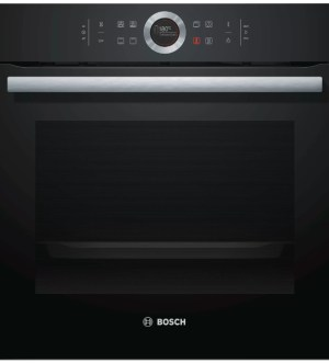 Bosch Serie 8 Single Oven Black | HBG634BB1B