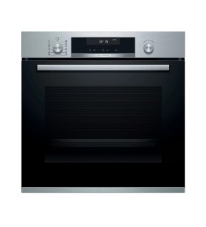 Bosch Serie 6 Single Pyrolytic Ovens Brushed Steel | HBA5780S6B