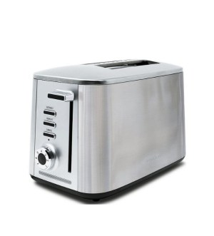 Drew&Cole Rapid 2 Slice Toaster Wide Slot | Stainless Steel