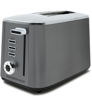 Drew&Cole Rapid 2 Slice Toaster Wide Slot | Charcoal