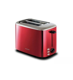 Morphy Richards Equip 2 Slice Toaster Red   222066