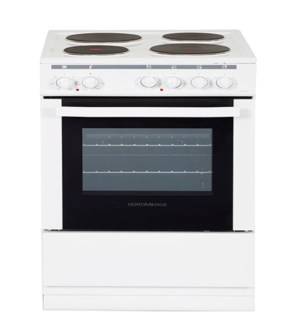 Nordmende 50cm Electric Cooker in White   CSE514WH