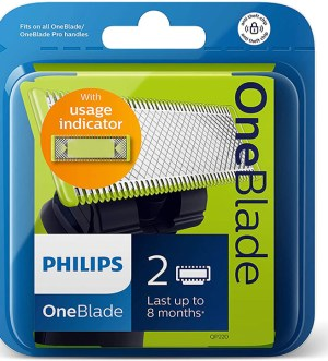 Philips Norelco OneBlade Trim, edge, shave Replaceable blade | QP220/50