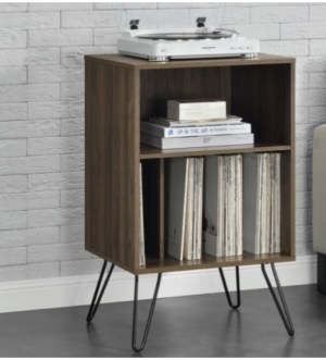 Concord Turntable Stand in Walnut with Record Storge   1324222COMUK