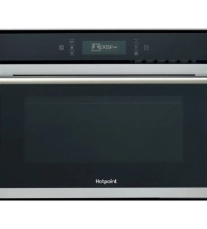 Hotpoint Built-in 900W Microwave in Stainless Steel | MP 676 IX H